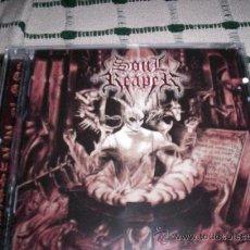 CDs de Música: SOULREAPER - WRITTEN IN BLOOD - BLACK/DEATH – EX-DISSECTION - BLACK METAL. Lote 27483778