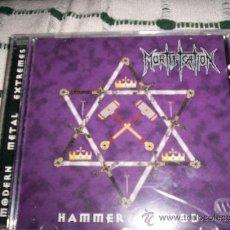 CDs de Música: MORTIFICATION - HAMMER OF GOD - DEATH METAL. Lote 27504962