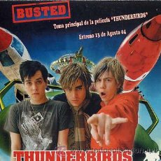 CDs de Música: THUNDERBIRDS - BUSTED / THUNDERBIRDS ARE GO! (CD SINGLE 2004). Lote 14477055