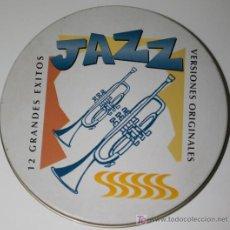 CDs de Música: CD EN CAJITA METALICA - JAZZ - 12 GRANDES EXITOS - VERSIONES ORIGINALES. Lote 14531863