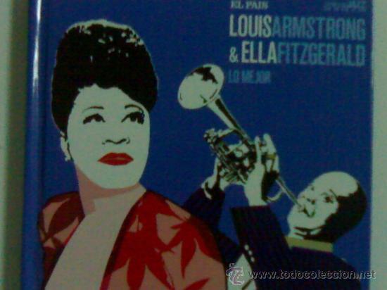 LOUIS ARMSTRONG & ELLA FITZGERALD LIBRO Y CD (Música - CD's Jazz, Blues, Soul y Gospel)