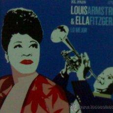 CDs de Música: LOUIS ARMSTRONG & ELLA FITZGERALD LIBRO Y CD. Lote 27487531