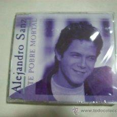 CDs de Música: ALEJANDRO SANZ – ESTE POBRE MORTAL – 1993 – 1 CANCION – PRECINTADO. Lote 26142675