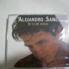 CDs de Música: ALEJANDRO SANZ – SI TU ME MIRAS – SINGLE- 1993 – 3 CANCIONES – PRECINTADO. Lote 26142676