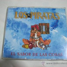 CDs de Música: LOS PIRATAS – EL SABOR DE LAS COSAS–SINGLE – 1993 – 1 CANCION. Lote 26604175