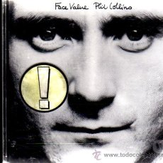 CDs de Música: PHILL COLLINS. FACE VALUE. Lote 14988951