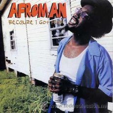 CDs de Música: AFROMAN / BECAUSE I GOT HIGH (3 VERSIONES) (CD SINGLE 2001). Lote 14993363