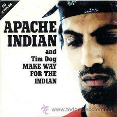 CDs de Música: APACHE INDIAN / MAKE WAY FOR THE INDIAN - I PRAY (CD SINGLE 1995). Lote 14994417