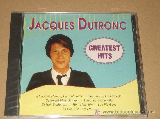 Jacques Dutronc Precintado Buy Cds Of Melodic Music At
