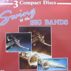CDs de Música: SWING TO THE BIG BANDS 3 COMPACT DISCS. Lote 15166599