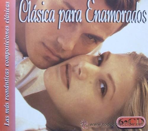 CLASICA PARA ENAMORADOS LAS MAS ROMANTICAS COMPOSICIONES CLASICAS 6 CD (Música - CD's Melódica )