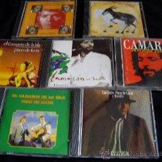 CDs de Música: 7 CDS DE CAMARON DE LA ISLA . Lote 26938390