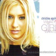 CDs de Música: CHRISTINA AGUILERA-WHAT A GIRL WANTS CDSINGLE 1999 PROMOCIONAL (U.E.). Lote 15261134