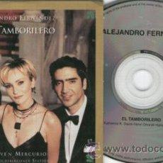 CDs de Música: ALEJANDRO FERNANDEZ - EL TAMBORILERO - CD SINGLE RARO DE PROMOCION. Lote 21367614