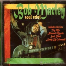 CDs de Música: CD BOB MARLEY - SOUL REBEL. Lote 26532549
