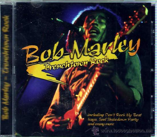 CD BOB MARLEY - TRENCHTOWN ROCK (Música - CD's Reggae)