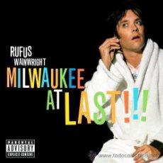 CDs de Música: RUFUS WAINWRIGHT - CD + DVD - MILWAKEE AT LAST- EDICIÓN DELUXE- -DIGIPACK - PRECINTADO !!!. Lote 109183926