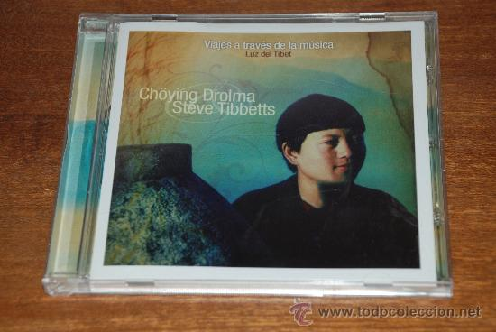 VIAJES A TRAVES DE LA MUSICA. LUZ DEL TIBET. CHOYING DROLMA STEVE TIBBETTS (Música - CD's World Music)