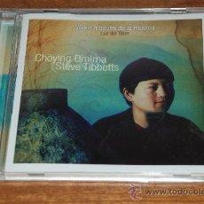 CDs de Música: VIAJES A TRAVES DE LA MUSICA. LUZ DEL TIBET. CHOYING DROLMA STEVE TIBBETTS. Lote 26967421