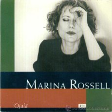 CDs de Música: MARINA ROSSELL. OJALA (CD- SINGLE 1997). Lote 15752507