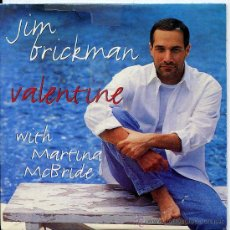 CDs de Música: JIM BRICKMAN / VALENTINE (WITH MARTINA MCBRIDE) (CD SINGLE 1997). Lote 16002982
