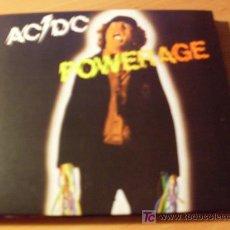 CDs de Música: AC / DC (POWERAGE ) CD DIGIPACK . . Lote 16035030
