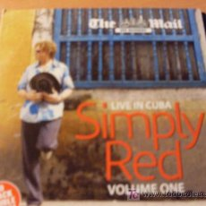 CDs de Música: SIMPLY RED ( LIVE IN CUBA I) CD 16 TRACKS. Lote 16069182