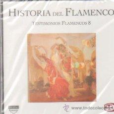 CDs de Música: HISTORIA DEL FLAMENCO TESTIMONIOS FLAMENCOS 8 NIÑA DE LOS PEINES / PACO DEL SOLANO.... Lote 104284556