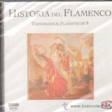 CDs de Música: HISTORIA DEL FLAMENCO TESTIMONIOS FLAMENCOS 9 MANOLITO DE MARIA / JUAN VAREA…. Lote 104284572