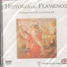 CDs de Música: HISTORIA DEL FLAMENCO TESTIMONIOS FLAMENCOS 10 JUAN TALEGA / PACO ROJAS…. Lote 210824025
