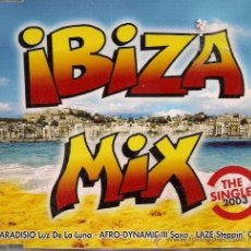 CDs de Música: CD SINGEL IBIZA MIX. Lote 16189194