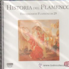 CDs de Música: HISTORIA DEL FLAMENCO TESTIMONIOS FLAMENCOS 29 CHOCOLATE / MIGUEL CAMBAYA…. Lote 211473427