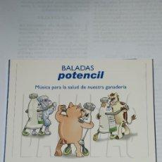 CDs de Música: BALADAS POTENCIL.MUSICA PARA LA SALUD DE NUESTRA GANADERIA.. Lote 27227423