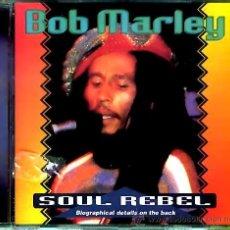 CDs de Música: CD BOB MARLEY - SOUL REBEL. Lote 27456686
