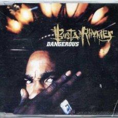 CDs de Música: BUSTA RHYMES / DANGEROUS (4 VERSIONES) (CD SINGLE 1997). Lote 16316424