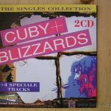 CDs de Música: CUBY & THE BLIZZARDS, SINGLES COLLECTION (1965-1972), 2 CDS 2000. Lote 17560510