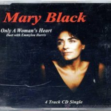 CDs de Música: MARY BLACK / ONLY A WOMAN´S HEART (CD SINGLE 1995). Lote 16349872