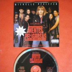 CDs de Música: MENTES PELIGROSAS CD BANDA SONORA. Lote 26496657