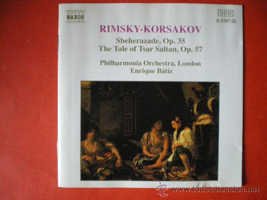 RIMSKY KORSAKOV OP.35 OP.57 CD (Música - CD's Clásica, Ópera, Zarzuela y Marchas)
