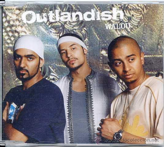OUTLANDISH / WALOU (CD SINGLE 2003) (Música - CD's Hip hop)