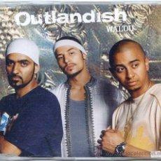 CDs de Música: OUTLANDISH / WALOU (CD SINGLE 2003). Lote 16405486