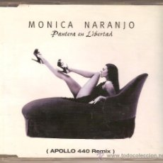 CDs de Música: MONICA NARANJO MAXI CD SINGLE PANTERA EN LIBERTAD REMIXES. Lote 27448784
