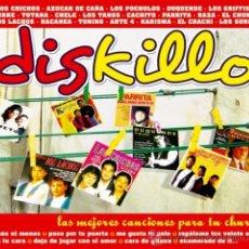 CDs de Música: DISKILLO - CD - LAS MEJORES CANCIONES PARA TU CHURRI - PRECINTADO!!!. Lote 27433768