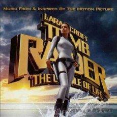 CDs de Música: LARA CORFT TOM RAIDER - CD - BSO THE CRADLE OF LIFE - PRECINTADO!!!. Lote 26469663