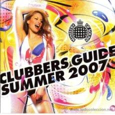CDs de Música: MINISTRY OF SOUND * 2 CD * CLUBBERS GUIDE SUMMER 2007 * PRECINTADO!!!!. Lote 27078644