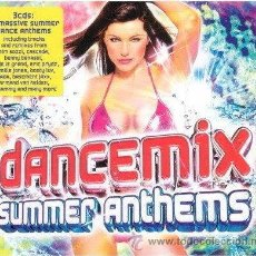 CDs de Música: DANCEMIX SUMMER ANTHEMS * MINISTRY OF SOUND * 3 CD * TEMAZOS !!! PRECINTADO!!!!. Lote 26377709