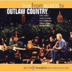 CDs de Música: OUTLAW COUNTRY * CD * LIVE FROM AUSTIN * DIGIPACK * IMPORT!! * PRECINTADO!!!. Lote 25397886