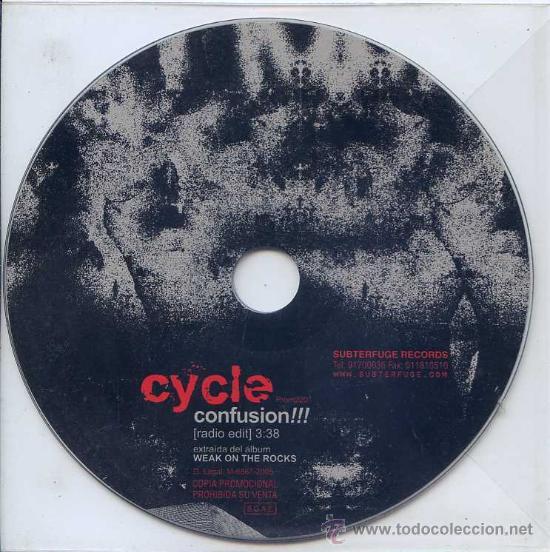CYCLE / CONFUSION!!! (CD SINGLE 2005) (Música - CD's Rock)
