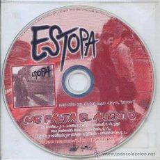 CDs de Música: ESTOPA / ME FALTA EL ALIENTO (CD SINGLE 1999). Lote 17043218