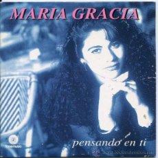 CDs de Música: MARIA GRACIA / PENSANDO EN TI (CD SINGLE 1997). Lote 17062548